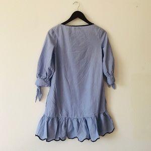 Zara Dresses - Zara Striped Shirt Dress